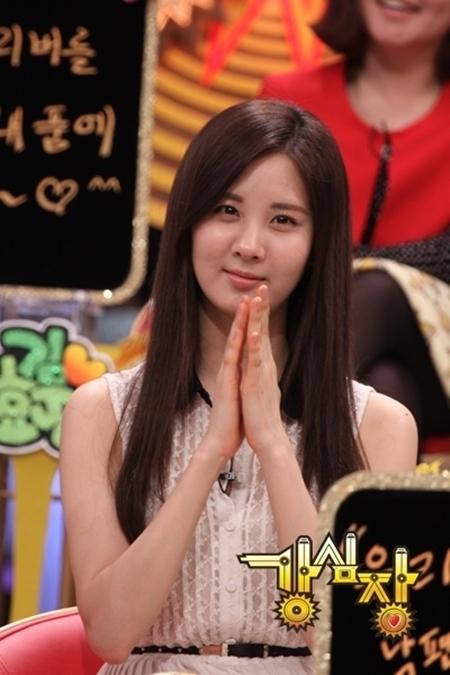 少女時代のソヒョン(写真=SBS提供)。
