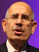 ムハンマド・エルバラダイ元国際原子力機関(IAEA)事務総長。