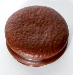 チョコパイ (写真=中央フォト)。