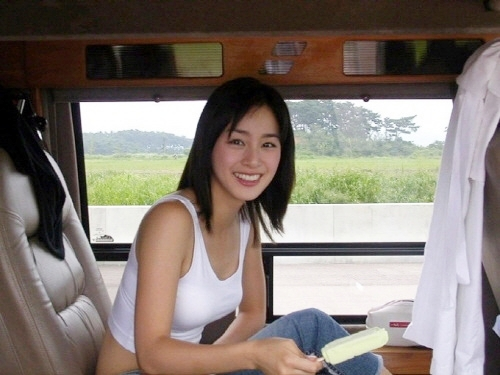 女優のキム・テヒ(写真=オンラインコミュニティー)。