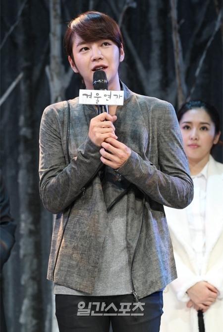 俳優のチャン・グンソク。
