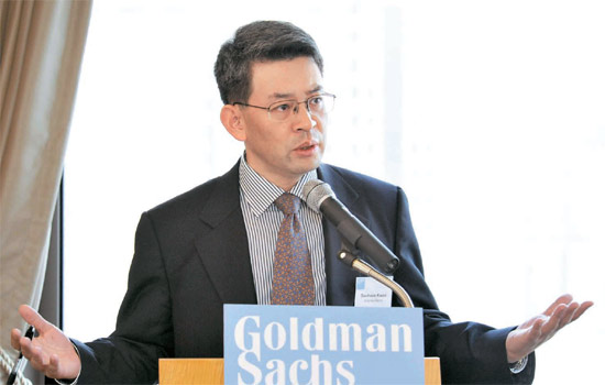 ゴールドマンサックスのエコノミスト、クォン・グフン氏は最近、韓国経済の未来を楽観する報告書を出した。 輸出が持続的に増え、2030年まで年3%の経済成長が可能で、日本のような長期沈滞には陥らないという内容だ (写真=ゴールドマンサックス)。