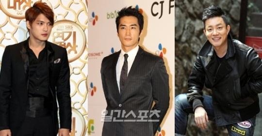 ドラマ「タイムスリップDr.JIN」に出演する(左から)キム・ジェジュン、ソン・スンホン、イ・ボムス。