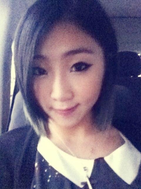 2NE1のコン・ミンジ(写真=コン・ミンジのツイッター)。