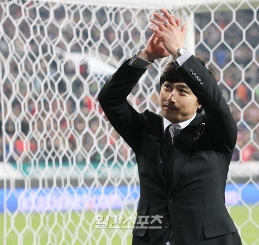 元韓国ワールドカップ代表の安貞桓(アン・ジョンファン、36)。