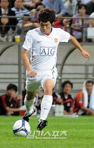 朴智星(パク・チソン、31)。