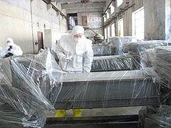 北朝鮮の寧辺(ニョンビョン)核燃料加工工場。