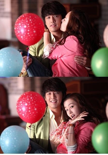 俳優リュ・シウォンとホン・スヒョンのキス写真が公開された(写真=ベルディメディア提供)。