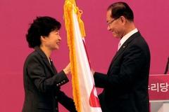 韓国与党代表に朴槿恵派の黄祐呂...
