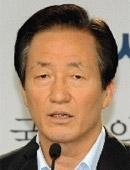 韓国与党・セヌリ党の鄭夢準(チョン・モンジュン)議員。