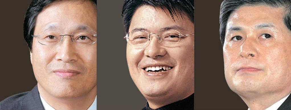ソウル大獣医大の康景宣(カン・ギョンソン)教授(49)、アールエヌエルバイオ(株)の羅廷燦(ラ・ジョンチャン)会長(49)、黄禹錫(ファン・ウソク)博士(60)。