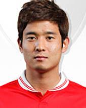 プロサッカー選手のチョン・ミンヒョン選手(25、写真=釜山アイパークのホームページ)。