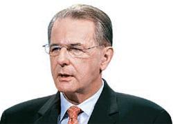 ジャック・ロゲ国際オリンピック委員会(IOC)委員長。