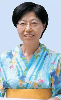 ミヤザキサヨコさん(58)。