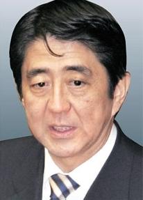 安倍晋三元首相(58)。