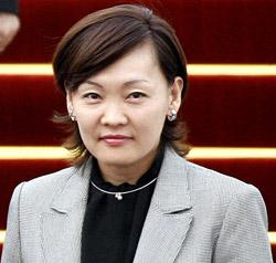 安倍晋三自民党総裁の夫人・昭恵氏。