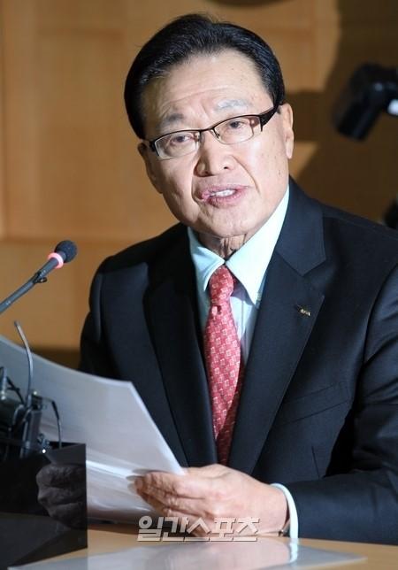 趙重衍(チョ・ジュンヨン)大韓サッカー協会会長