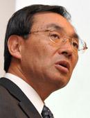 津賀一宏パナソニック社長。