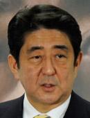 安倍晋三自民党総裁。