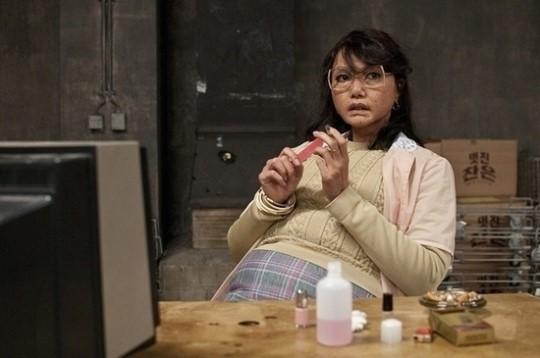 映画『クラウド・アトラス』の中の女優ペ・ドゥナ。