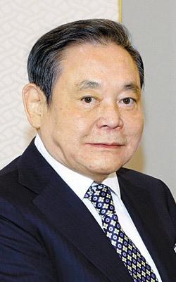 李健煕(イ・ゴンヒ)サムスン電子会長(71)