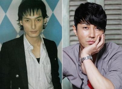 SMAPの草なぎ剛(左、写真=中央フォト)と韓国の俳優茶・スンウォン(写真=韓国ニッカンスポーツ)。