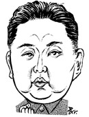 北朝鮮の金正恩(キム・ジョンウン)第一書記。