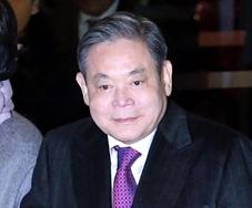 サムスン電子の李健煕(イ・ゴンヒ)会長。