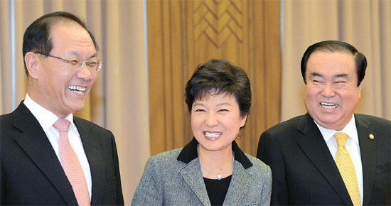 朴槿恵「対北朝鮮特使派遣は困難...