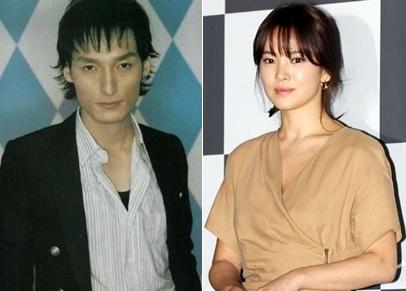 SMAPの草なぎ剛(左、写真=中央フォト)と女優のソン・ヘギョ(写真=韓国ニッカンスポーツ)。