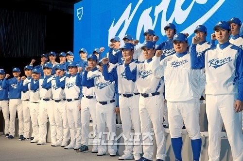 WBC韓国代表チーム。