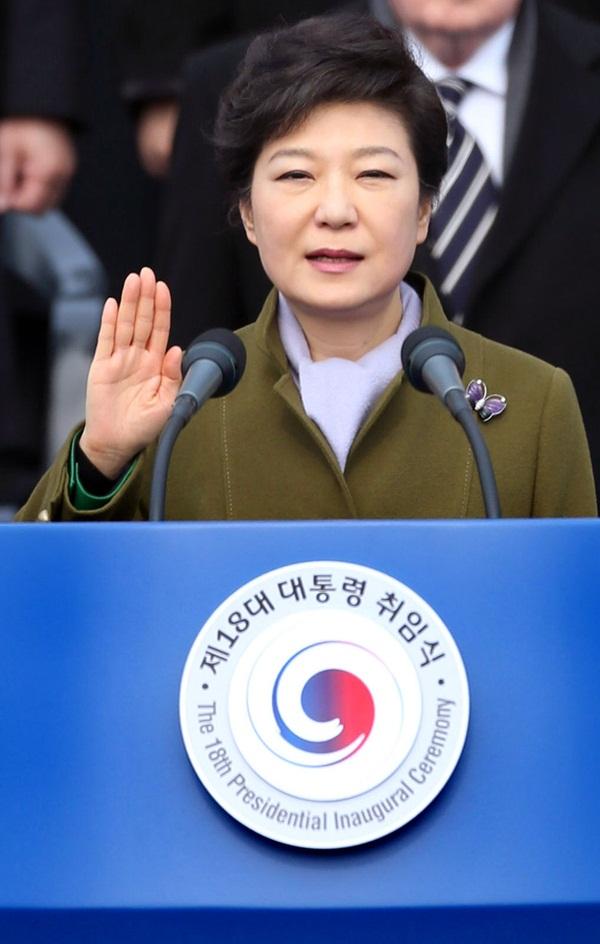 朴槿恵(パク・クンヘ)大統領