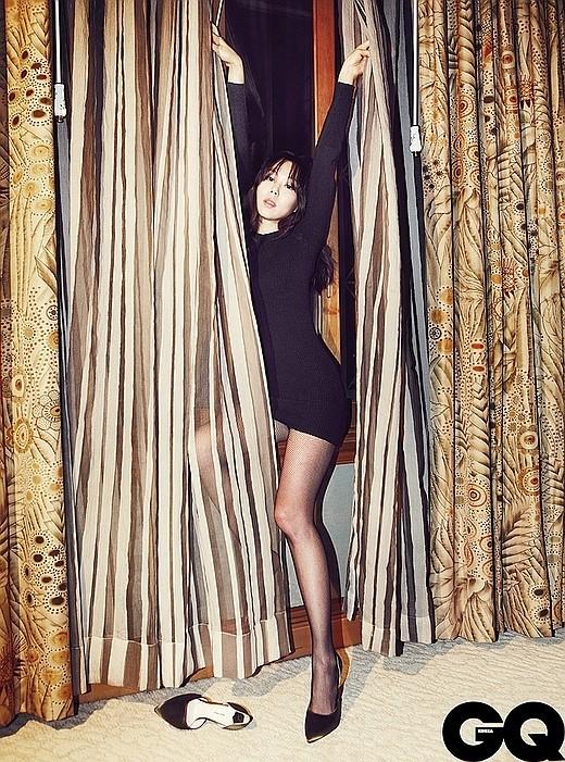 女優のキム・ミニ(写真提供=GQ)。