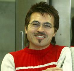 ヘアーデザイナーのパク・ジュン氏(62)。
