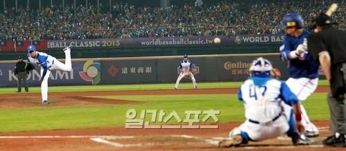 2013WBC第1ラウンドB組の韓国ー台湾戦