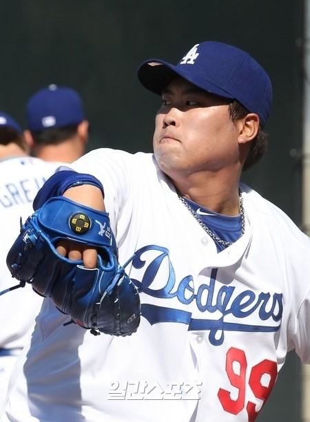 柳賢振(リュ・ヒョンジン、26、LAドジャース)。
