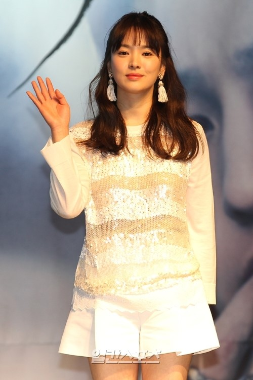 女優のソン・ヘギョ。