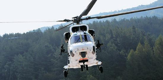 韓国型機動ヘリコプター「スリオン」