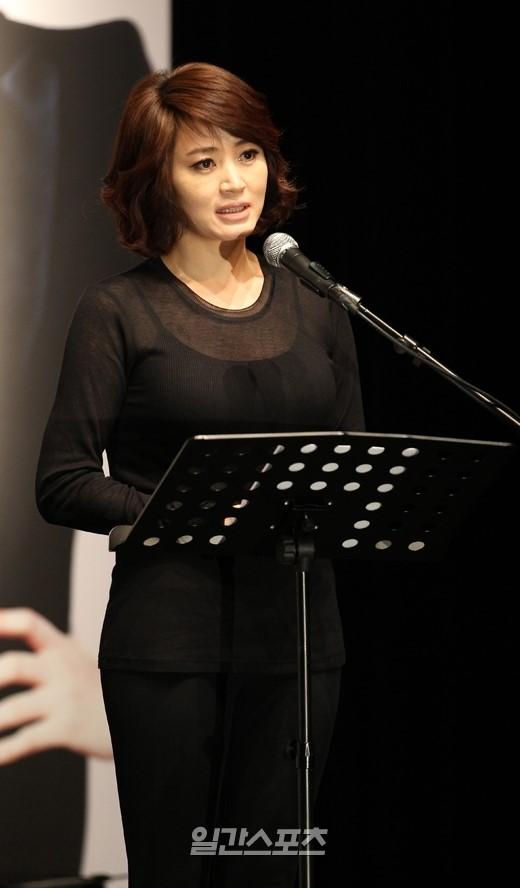 女優のキム・ヘス。
