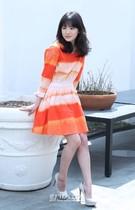 3日に終映したSBS(ソウル放送)の水木ドラマ『その冬、風が吹く』で、視覚障がい者のオヨン役を熱演した女優のソン・ヘギョ。