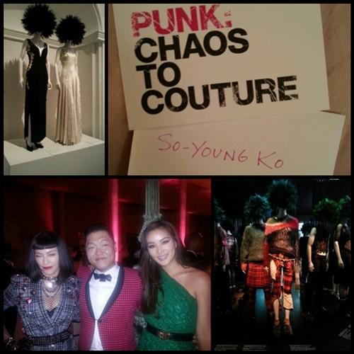 左から、歌手のマドンナ、PSY、女優のコ・ソヨン(写真=コ・ソヨンのツイッター)。