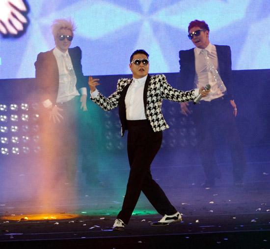 歌手のPSY(サイ、写真=中央フォト)。