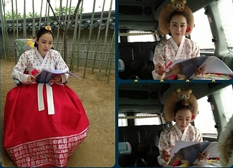女優キム・テヒ(写真=キム・テヒのme2day)。