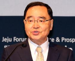 鄭ホン原(チョン・ホンウォン)首相