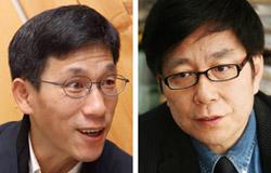 チン・ジュングォン教授とチョン・ジェソ教授。