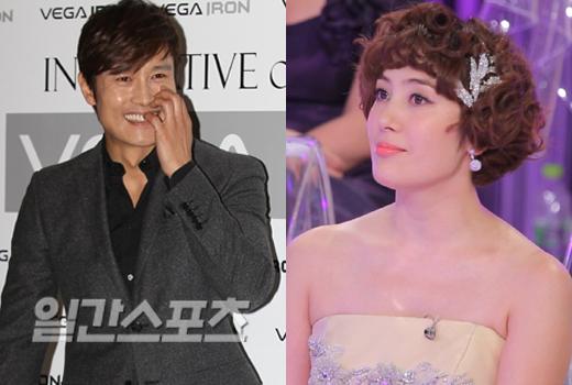 俳優イ・ビョンホンと妹のイ・ウンヒ。