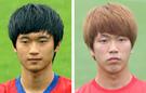 金珍洙(キム・ジンス、左)、金英権(キム・ヨングォン、右)