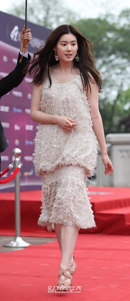 女優のチョン・ウンチェ。