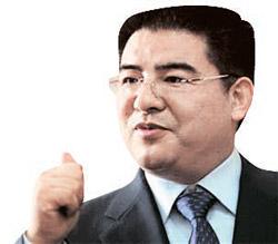 中国江蘇省の黄浦再生資源利用有限公司の陳光標会長(45)