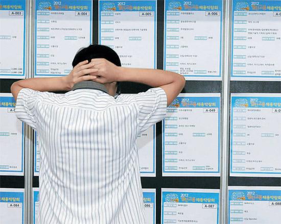 今年下半期の大学生の就職難が、2009年の金融危機水準に次ぐとの見通しが出てきた。